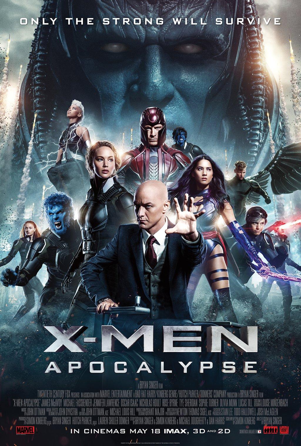 Review: 'X-Men Apocalypse' provides decent summerentertainment